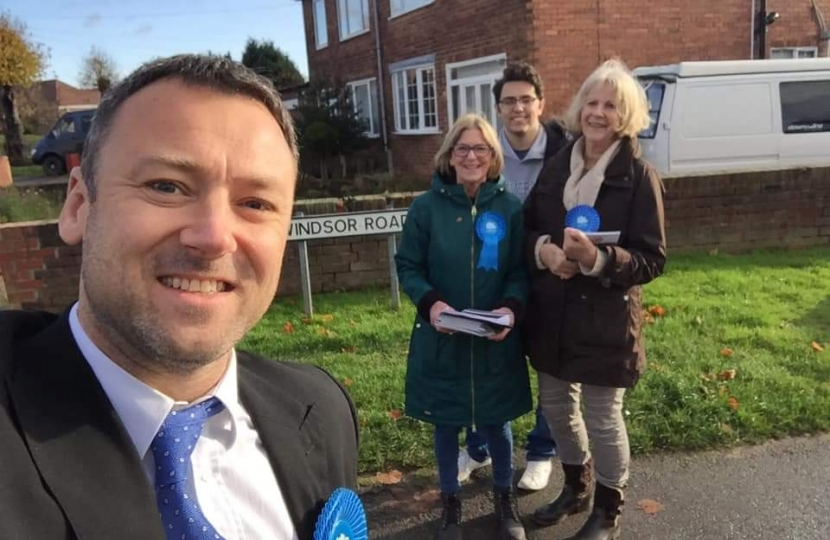 Campaigning in Carlton-in-Lindrick