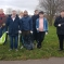 At the start of the Snipe Park Litter Pick